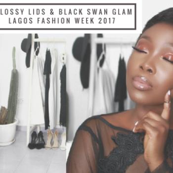 Glossy Lids & Black Swan Glam for LFDW by IamDodos