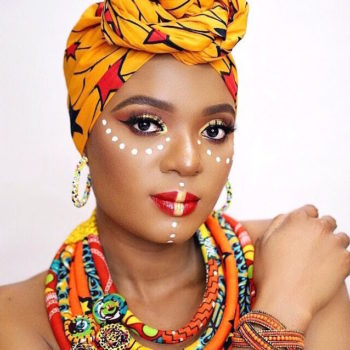 A Tutorial for the Culture! Ankara Inspired Makeup by Omabelle