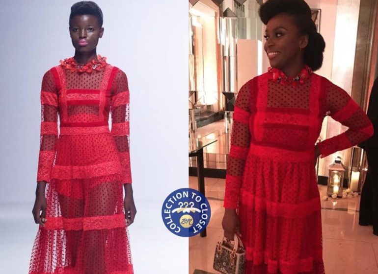 BN Collection to Closet: Chimamanda Ngozi Adichie in Moofa