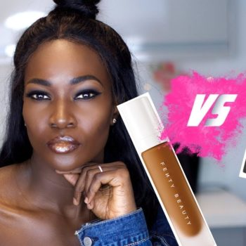 Fenty Beauty VS Huda Beauty | The Wear Test by Oluchi Onuigbo