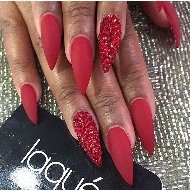 Monday Manicure Tis The Season For Red