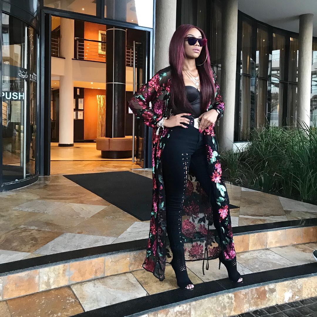 Bonang Matheba Wore The Ultra Chic Piece Fashion Girls Are Crazy About Bn Style