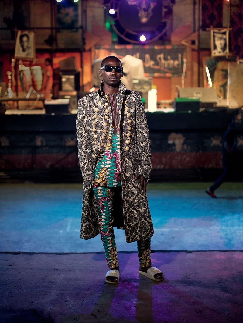 GQ Made a Fashion Story Around Fela Kuti's New Afrika Shrine