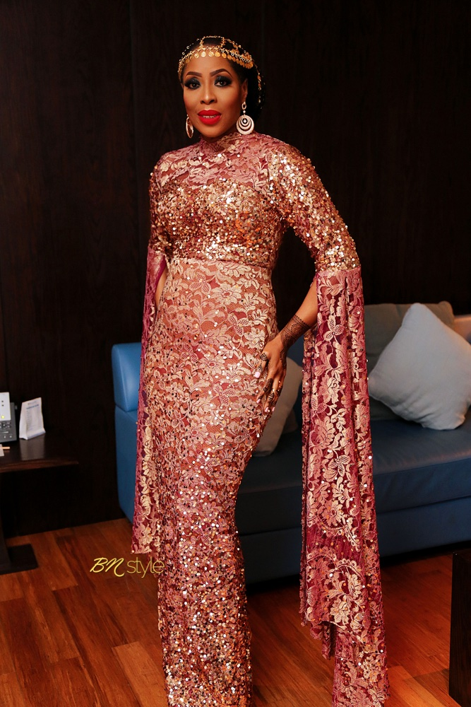 Get The Look And Feel Of Natural Wood For Your Front Door: Get The Look: Mo Abudu As The Queen Of Arabian Nights