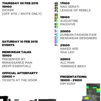South African Menswear Week