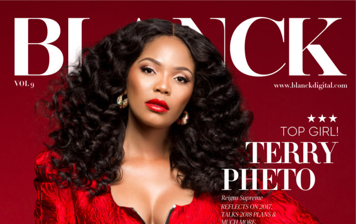 Terry Pheto is Our Favourite South African Cover Girl this Christmas