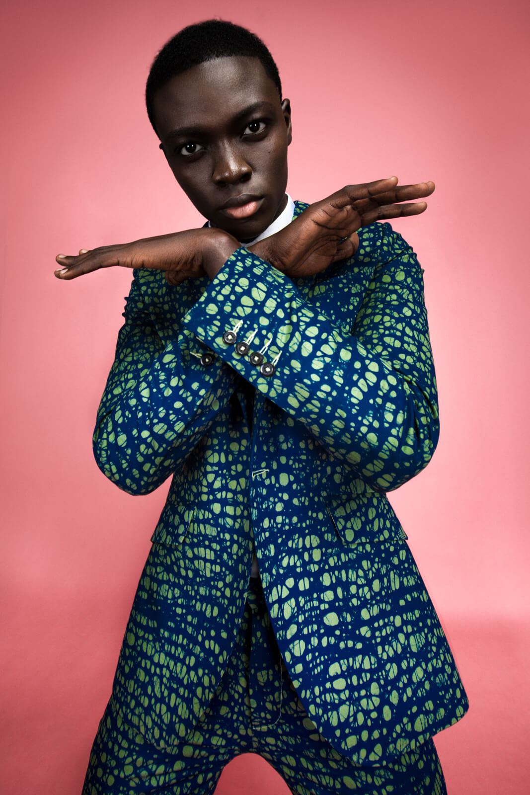You Need To See Tokyo James' Futuristic Collection for Vlisco&Co