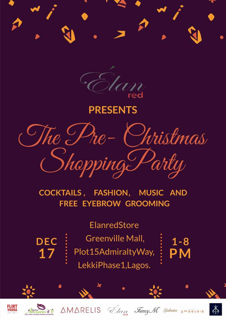 What To Do In Lagos This Christmas -The Ultimate Shopping Party List