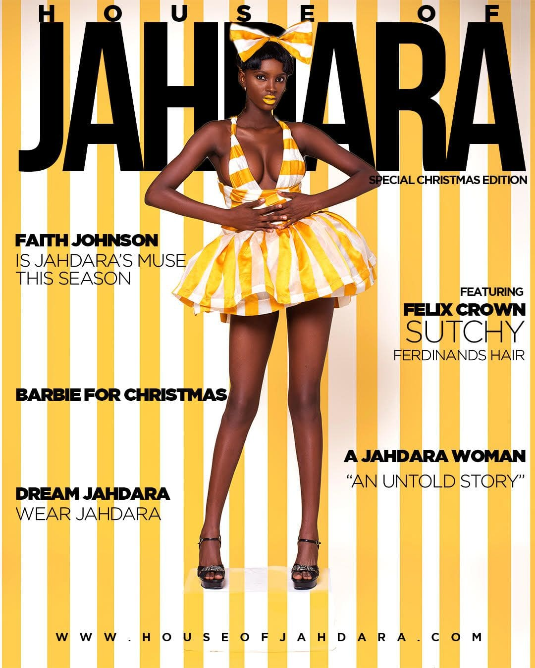 """Channel your Inner """"Barbie for Christmas"""" in House of Jahdara's Latest Collection"""