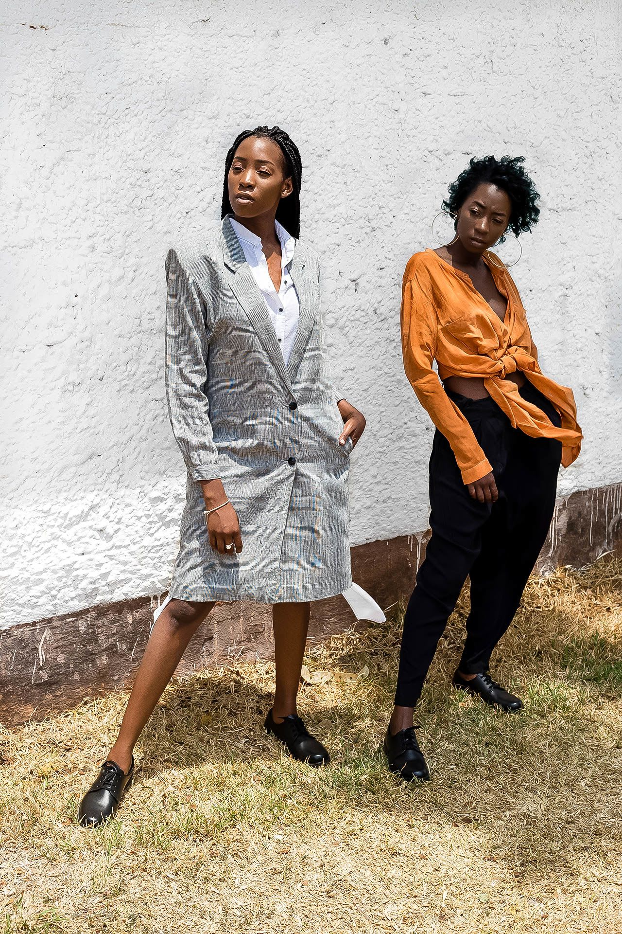 These zambian bloggers created a lookbook for bata and we for Fundafunda
