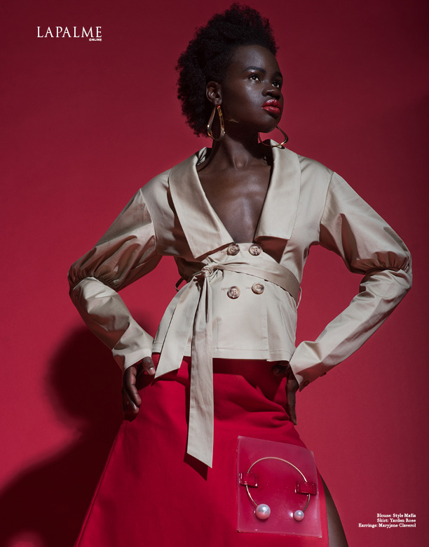 Ajang Majok Proves South Sudanese Models Are The It-Cover Girls This Season!