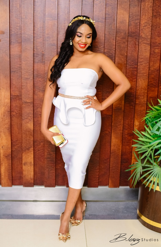 #BBNWonderland Brides show us 26 Ways to Wear a White Jumpsuit