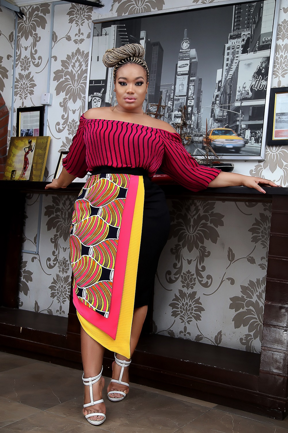 Tajé Prest is the Perfect Muse for SGTC Clothing's Latest Collection