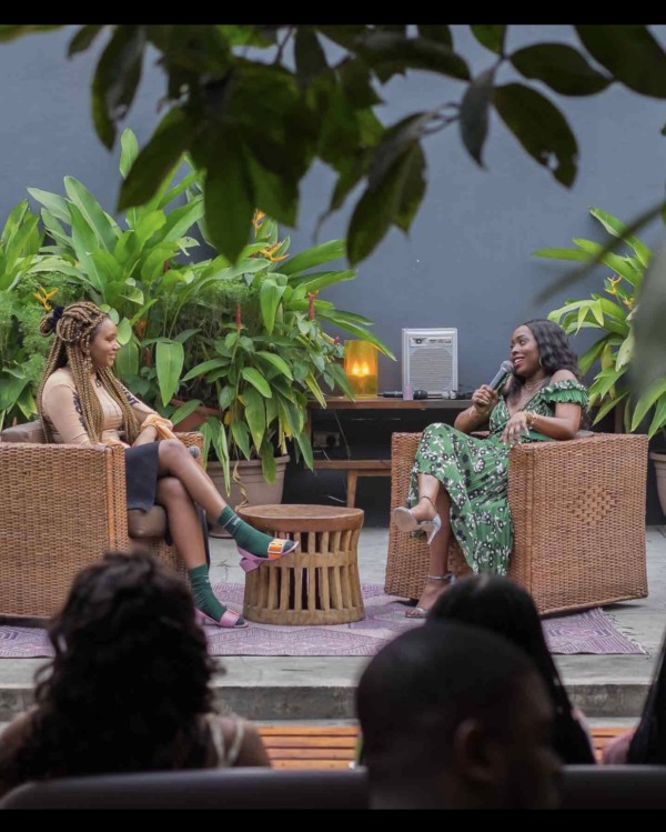 Inside Temi Otedola's Exclusive Conversation Over Brunch with Ade Samuel