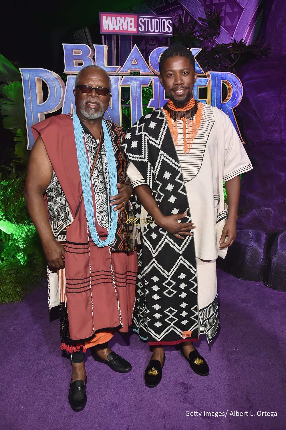 The African Cast Of Blackpanther Dress Up As Royalty For