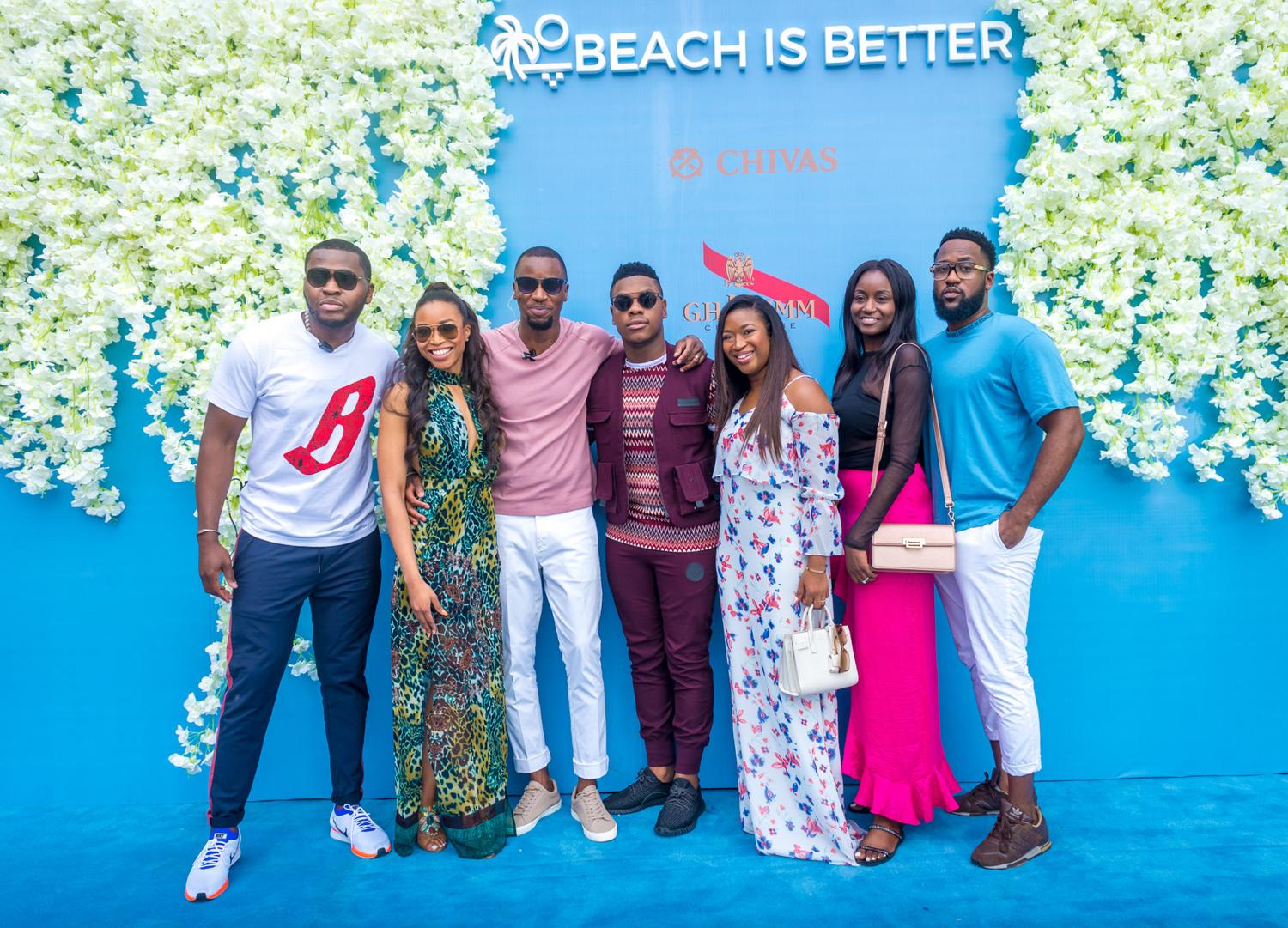 The Coolest Crowd In Lagos Caught The Party Wave at #BeachIsBetter