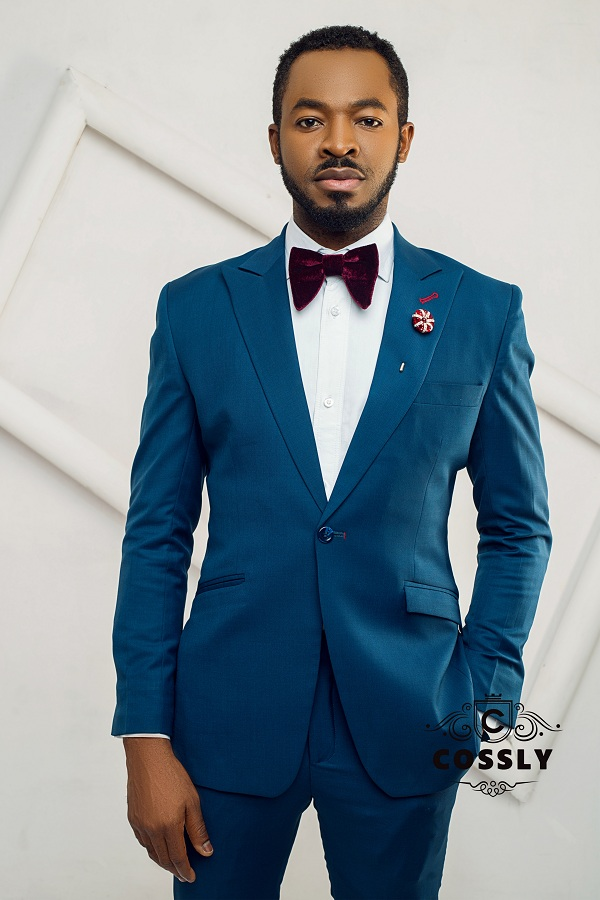 OC Ukeje and Damola Cruz Model New Collection By Menswear Brand Cossly