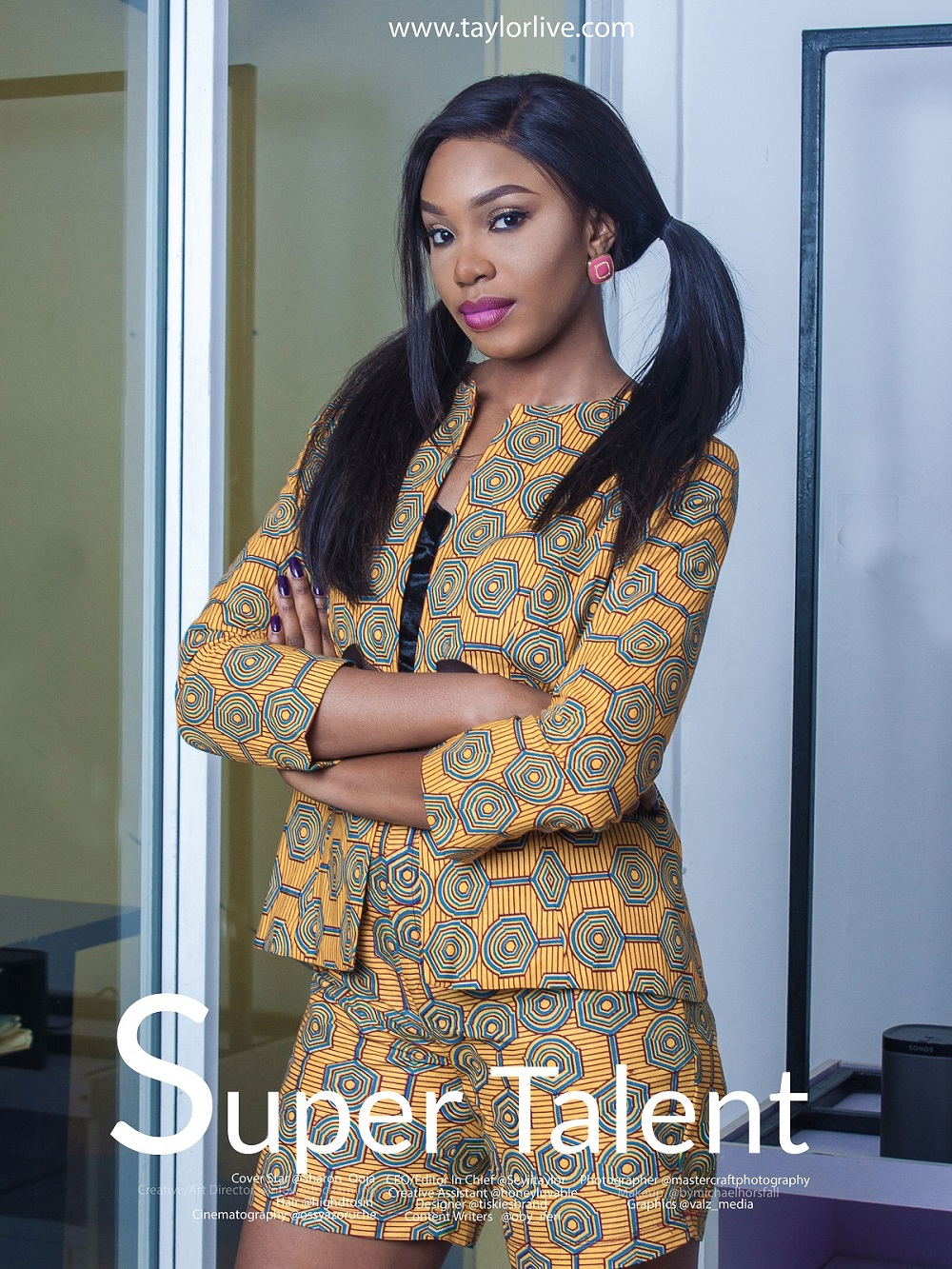 Sharon Ooja Egwurube Shows off Teenage Style for TL Magazine