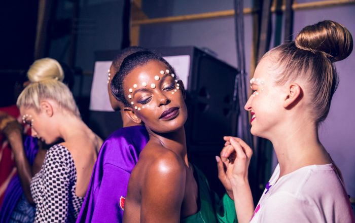 backstage beauty #AFICTFW18