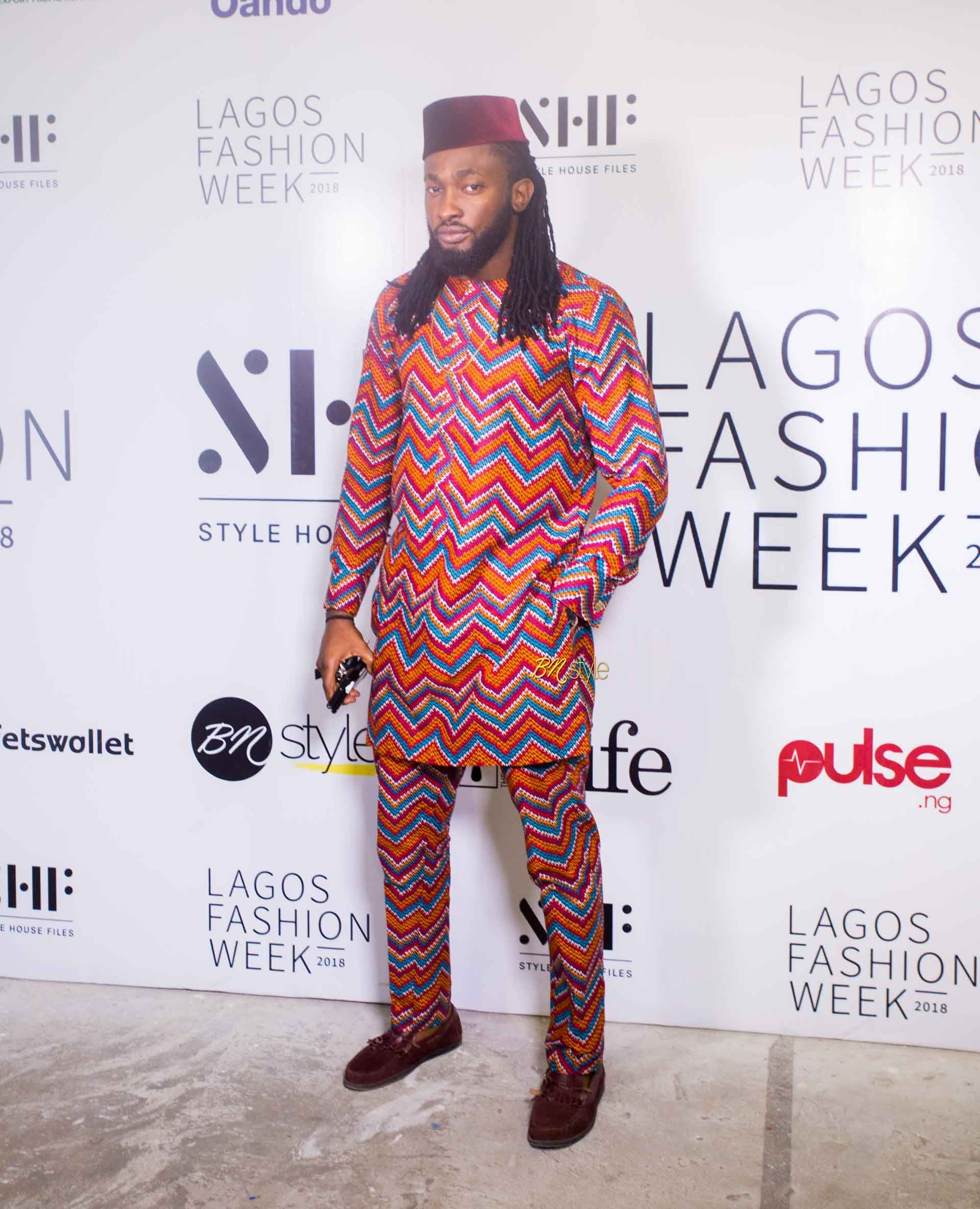 All the Stylish Guests on Day 3 of Lagos Fashion Week A/W18 Presentations