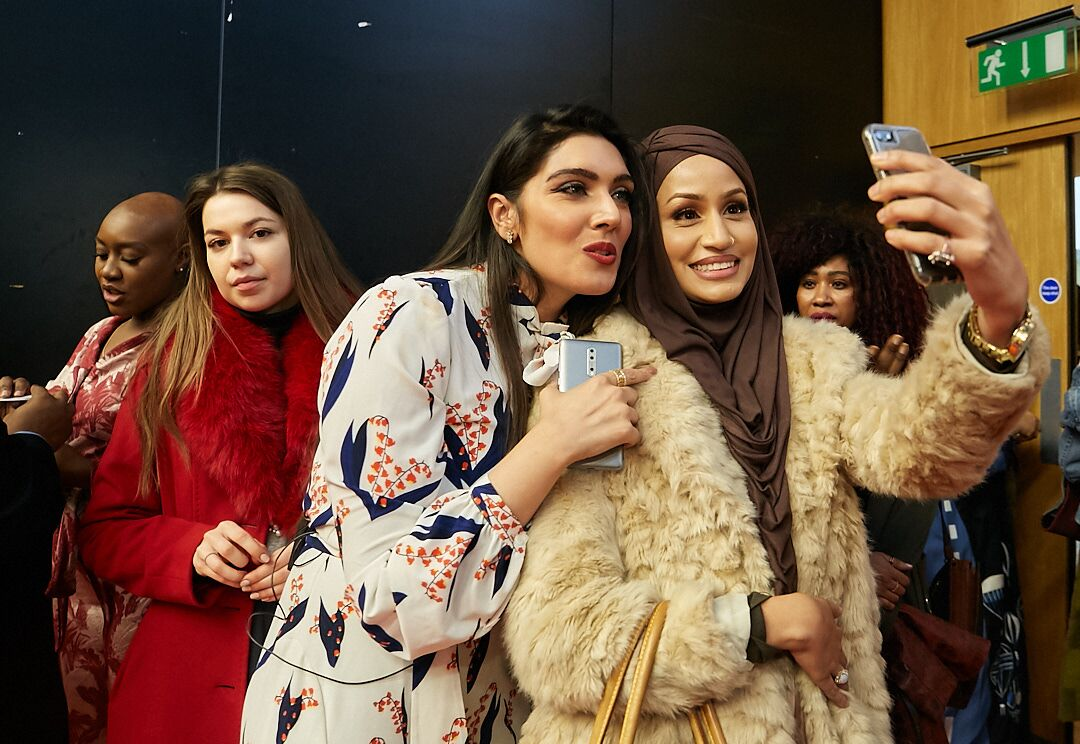 #BellaStylistas in London Had a Swell Time at the Luxe Beauty Soirée – Here's All That Happened