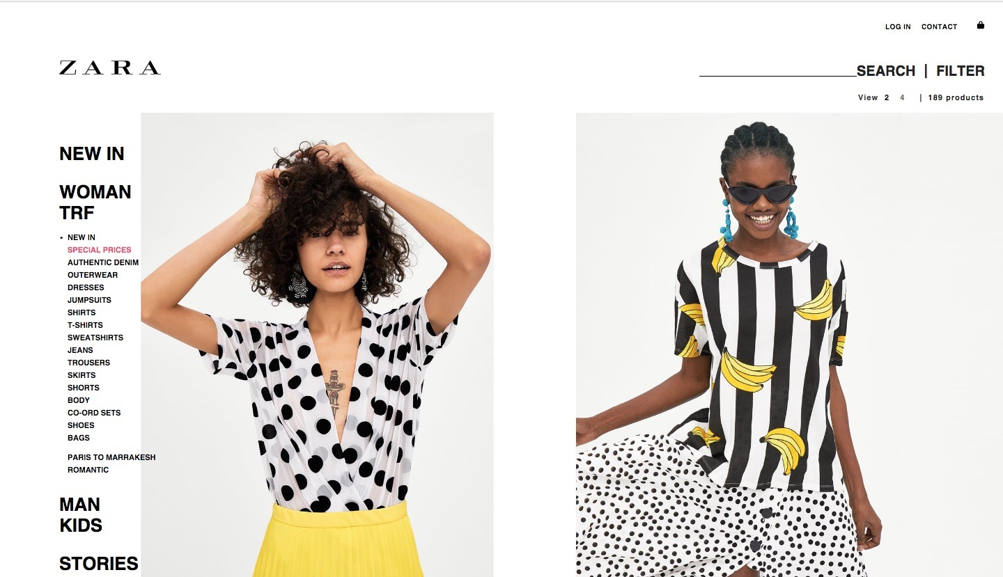 Elizabeth Ayodele Stuns as One of Zara's New Campaign Models