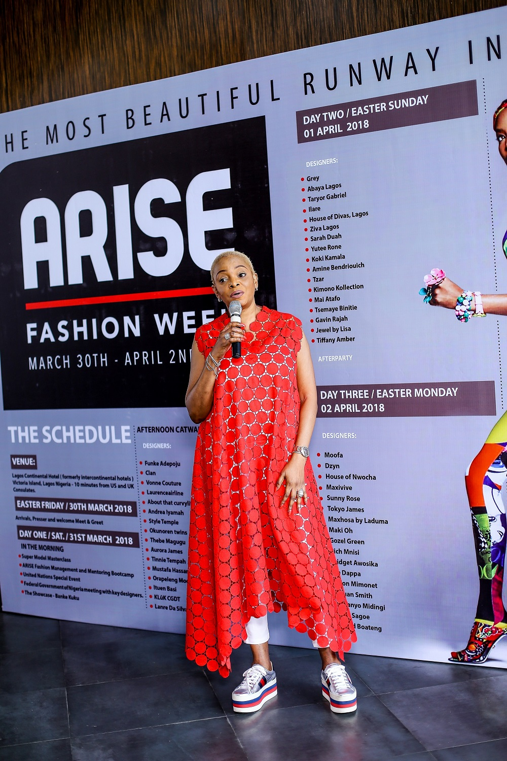 2019 year look- Arise gallery magazine party