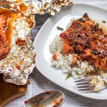 This Firecracker Salmon Recipe has Too Much Juice, Too Much Sauce