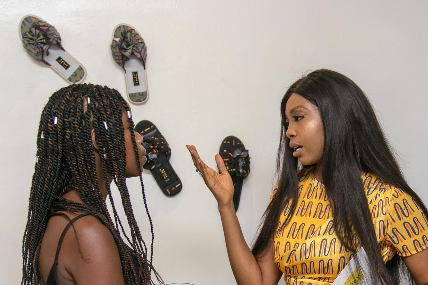 Temple Muse Celebrates women with Grey Projects 2018 Spring/Summer Collection – Ibadan Woman