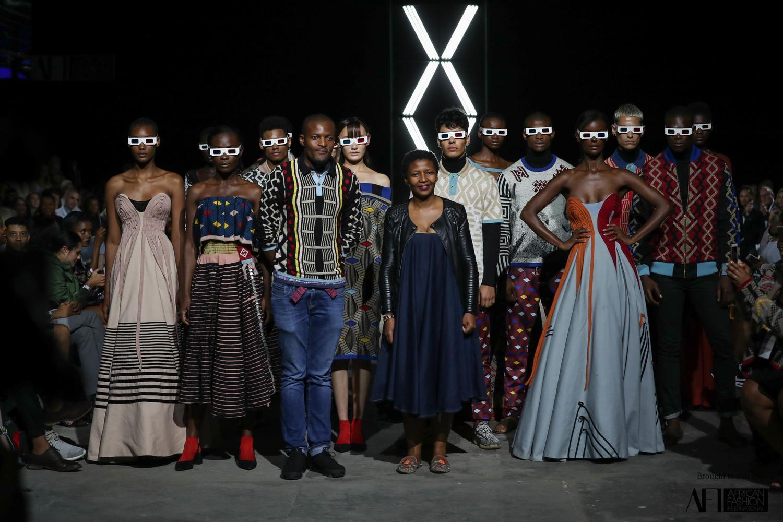 #AFICTFW18 |  MaXhosa By Laduma