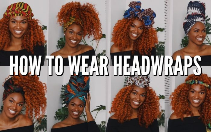 "9 Quick & Easy Headwrap Styles for that ""Bad Hair Week"" Forecast"