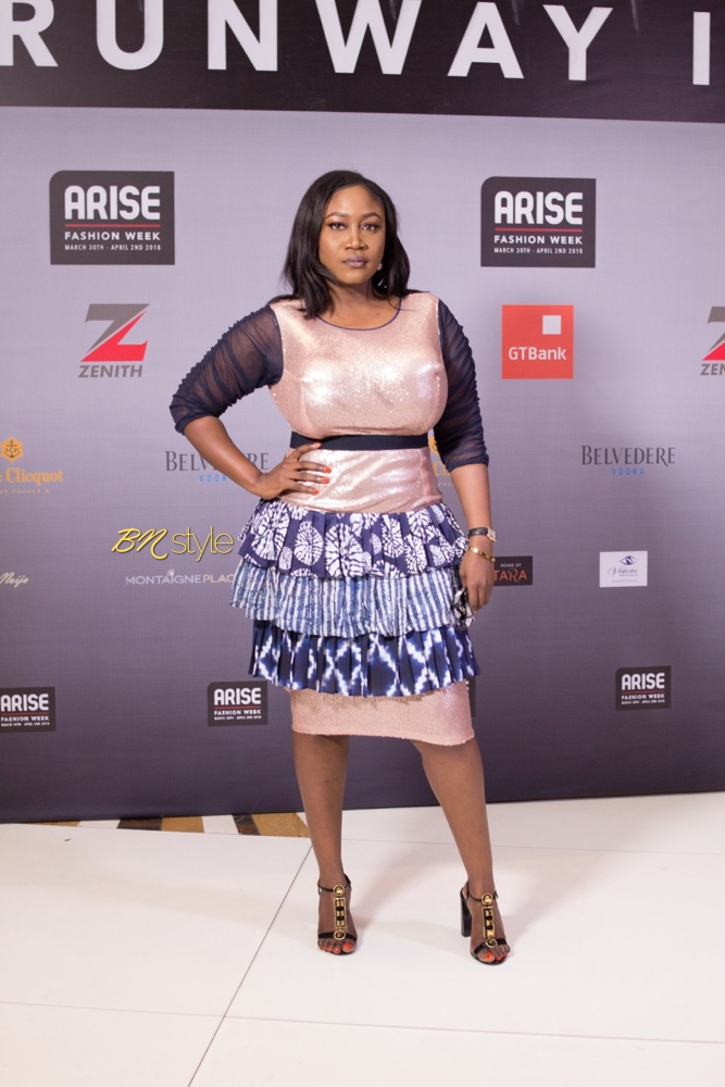 #BNSAFW18: All the Stylish Guests from Day 2 of Arise Fashion Week 2018