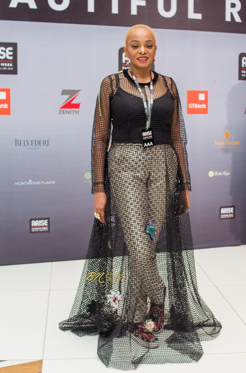 #BNSAFW18: All the Stylish Guests from Day 3 of Arise Fashion Week 2018