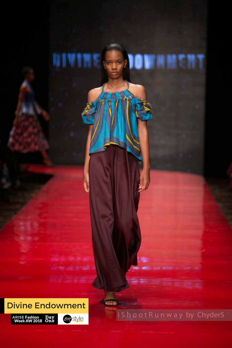ARISE Fashion Week 2018 | Divine Endowment