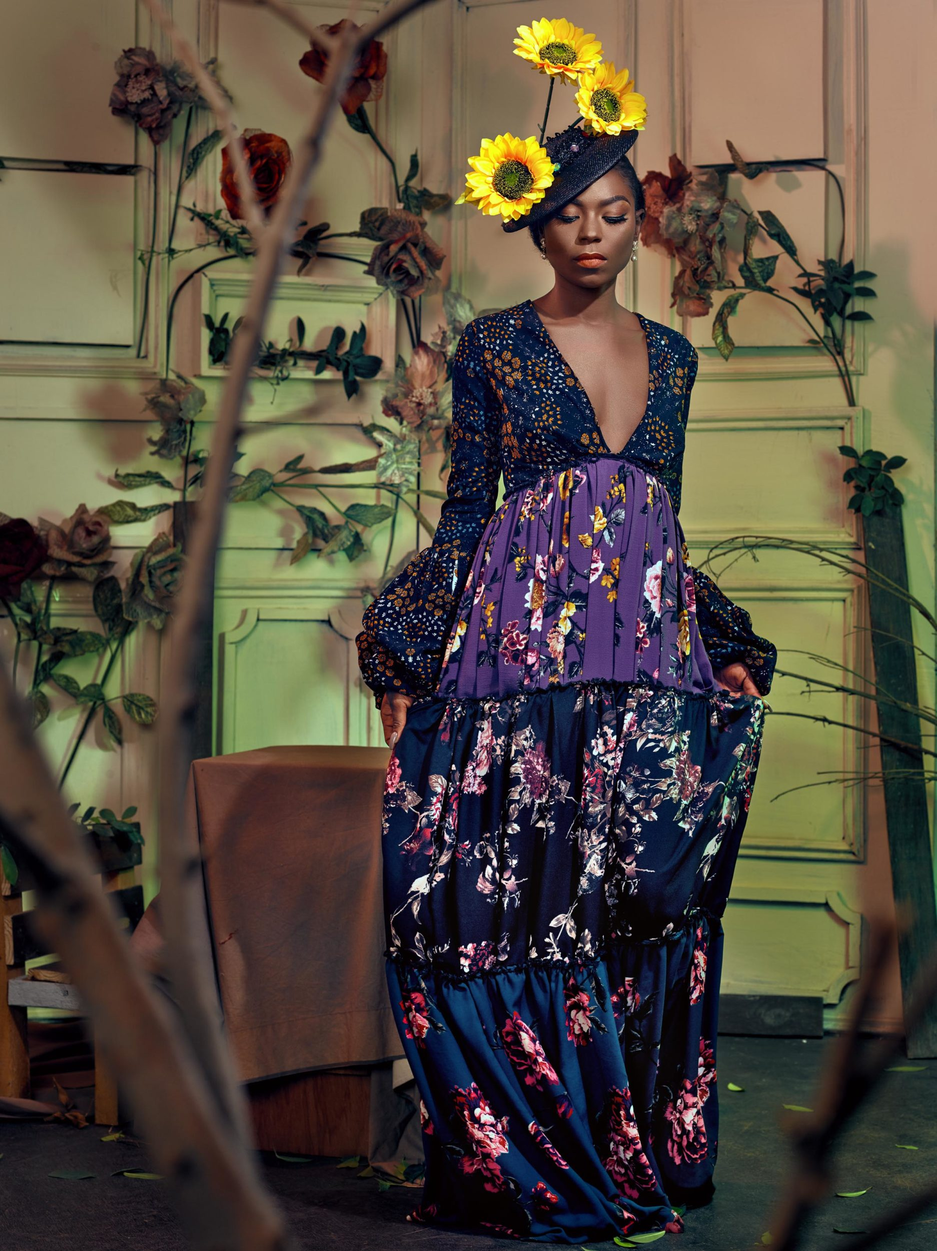 "Fortify Your Floral Obsession with Nouva Couture's ""Floraison"" Collection!"