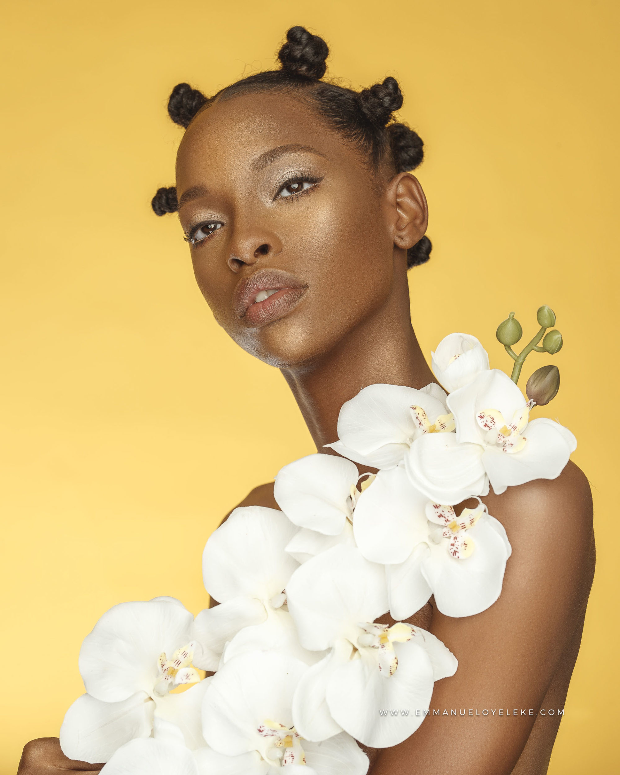 Orchids Puh-lease! You'll Love this Blooming Beauty Shoot