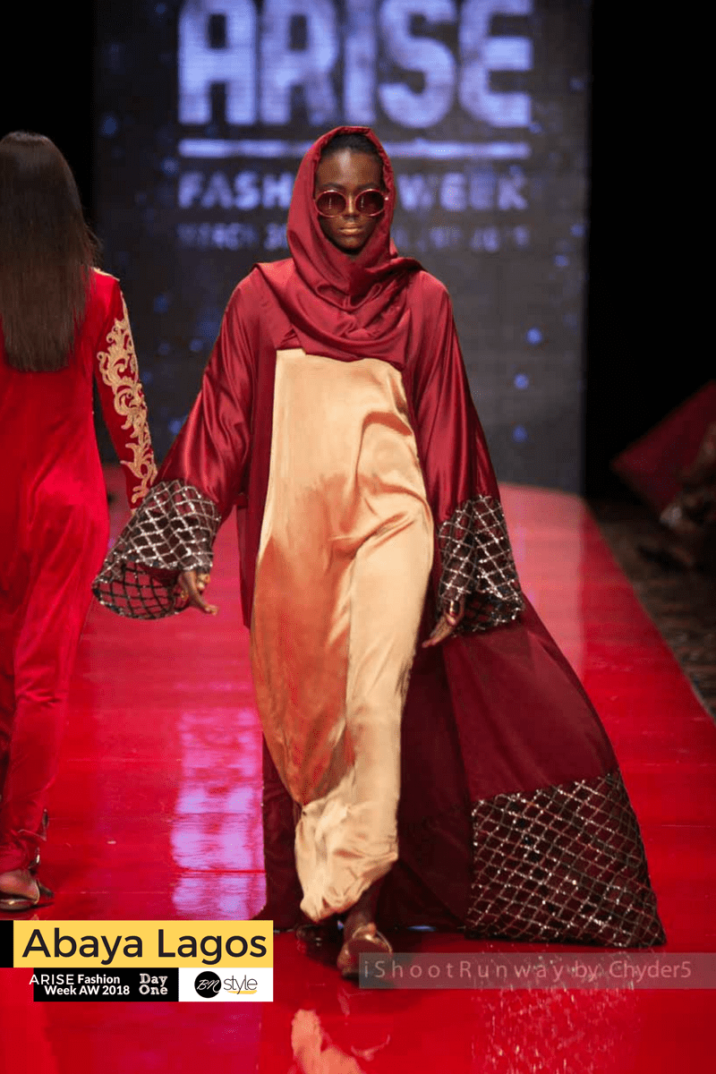 ARISE Fashion Week 2018 | Abaya Lagos