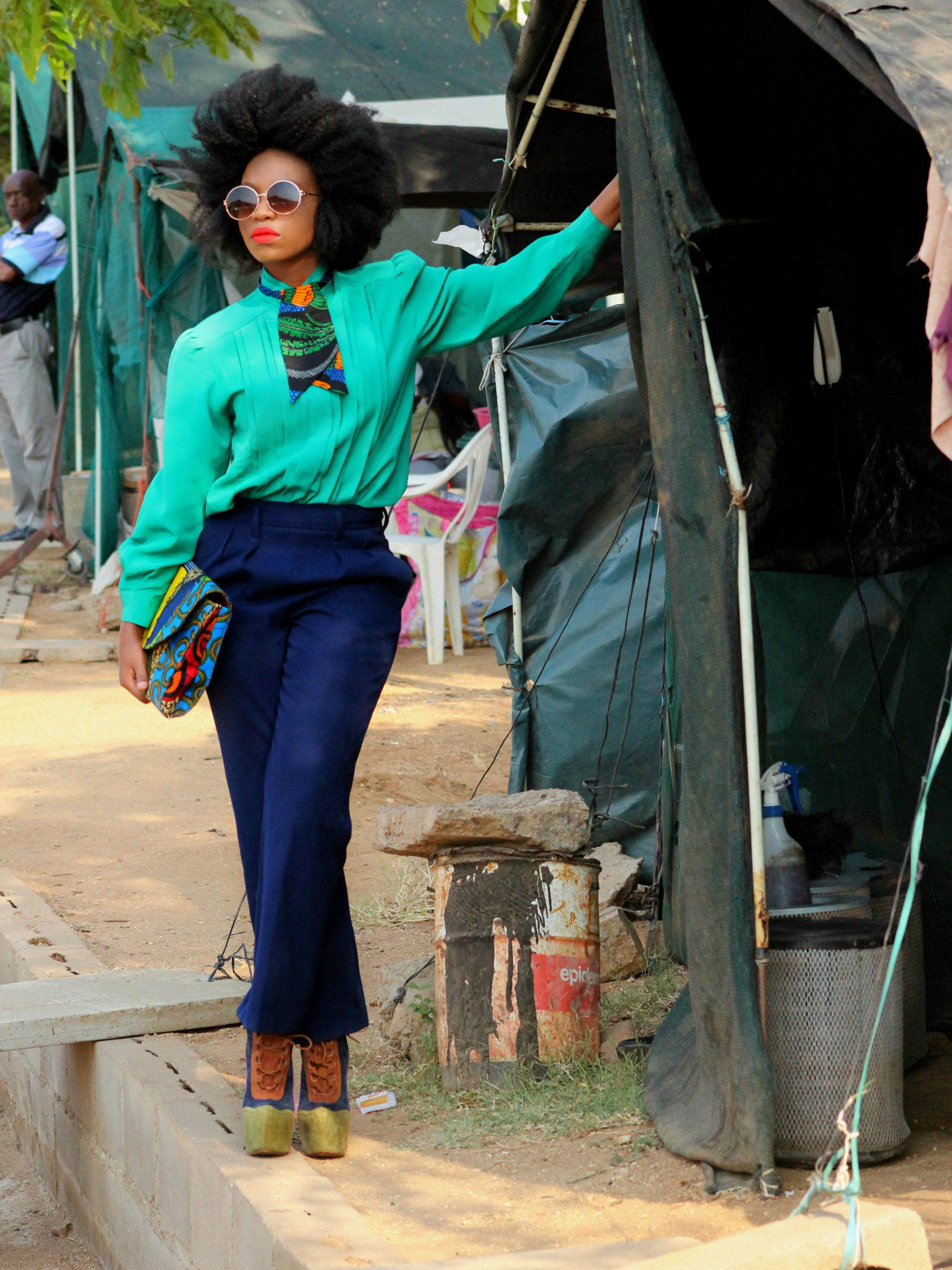 Tsholofelo Dikobe's Street Style is Basically A Masterclass in Power Dressing