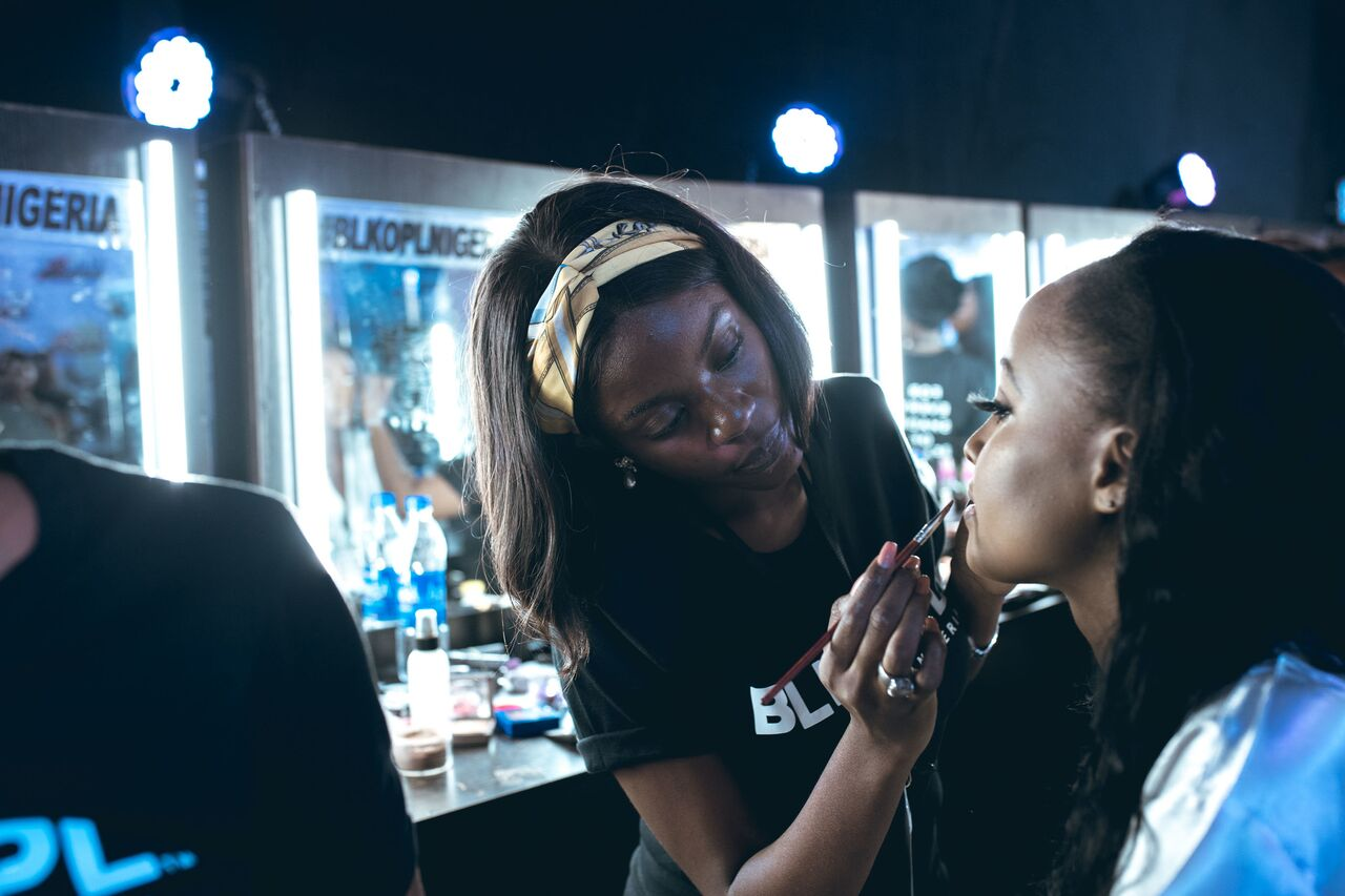 All The BTS Beauty Moments From BLK OPL At #LBFW2018