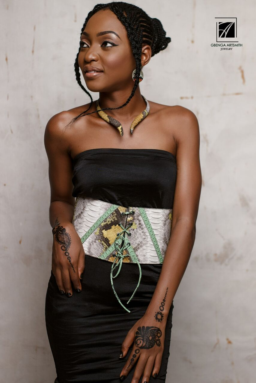 Bold Jewellry Lovers, Gbenga Artsmith's New Collection Is for You