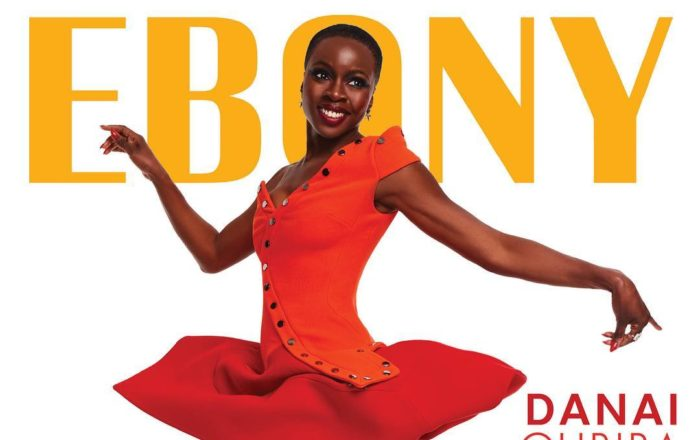Danai Gurira Shines on the Covers June 2018 Edition of Ebony Magazine