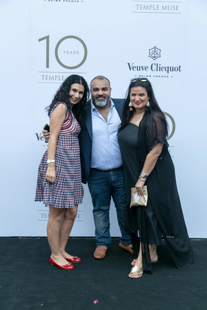 Fashion, Art & Bubbly: Temple Muse Celebrates Turning 10 in Style