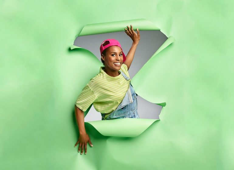 Issa Rae is the Ultimate 90s Baby for GQ Magazine's Comedy Issue