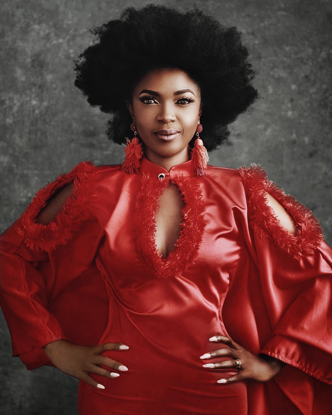 Omoni Oboli's Tips on How to Grow & Maintain Natural Hair