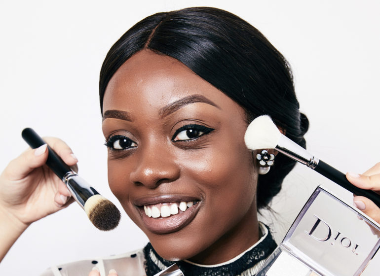African Influencers at Dior Backstage Launch in London & New York