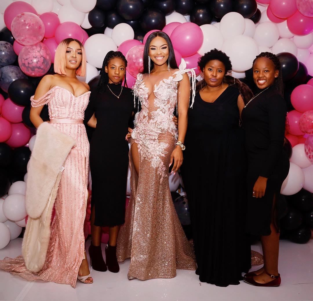 Bonang Matheba's 31st Birthday Weekend Was as Elegant as You'd Imagine