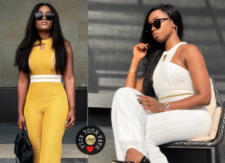 Former #BBNaija Housemates CeeC & BamBam Seem to have Similar Taste 😻