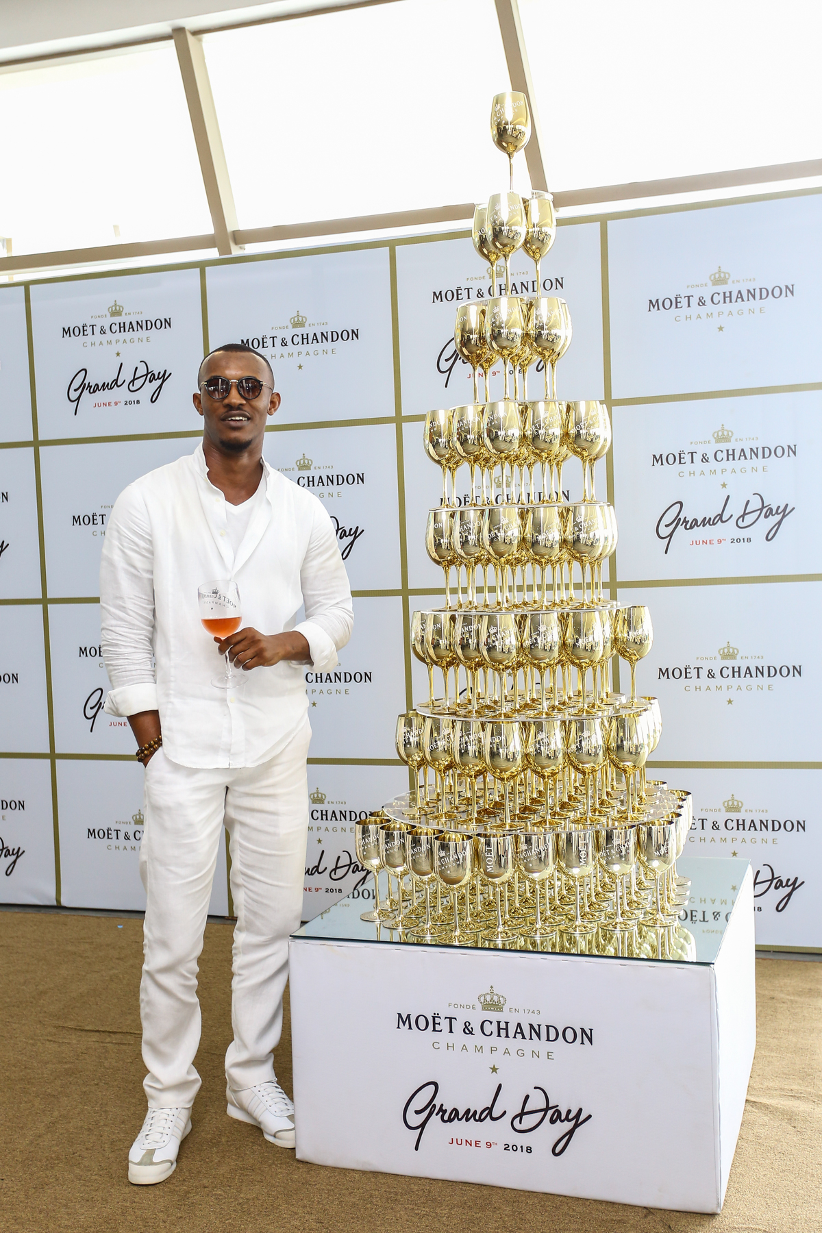 Inside Moët & Chandon's Fabulous All-White Party In Lagos