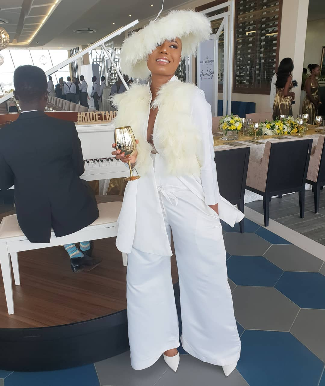 Image result for pictures from the moet and chandon grand day party 2018