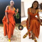 OG Okonkwo & Zina Anumudu are Twinning in This Style Temple Dress